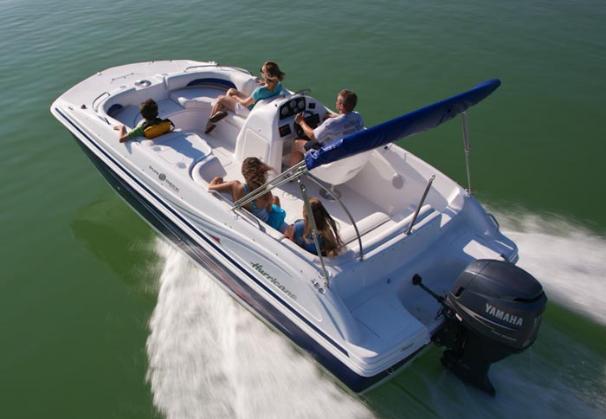 2014 Hurricane boat for sale, model of the boat is SunDeck Sport 188 OB & Image # 2 of 6