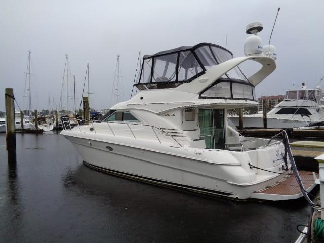 Sea Ray 400 Sedan Bridge - Profile