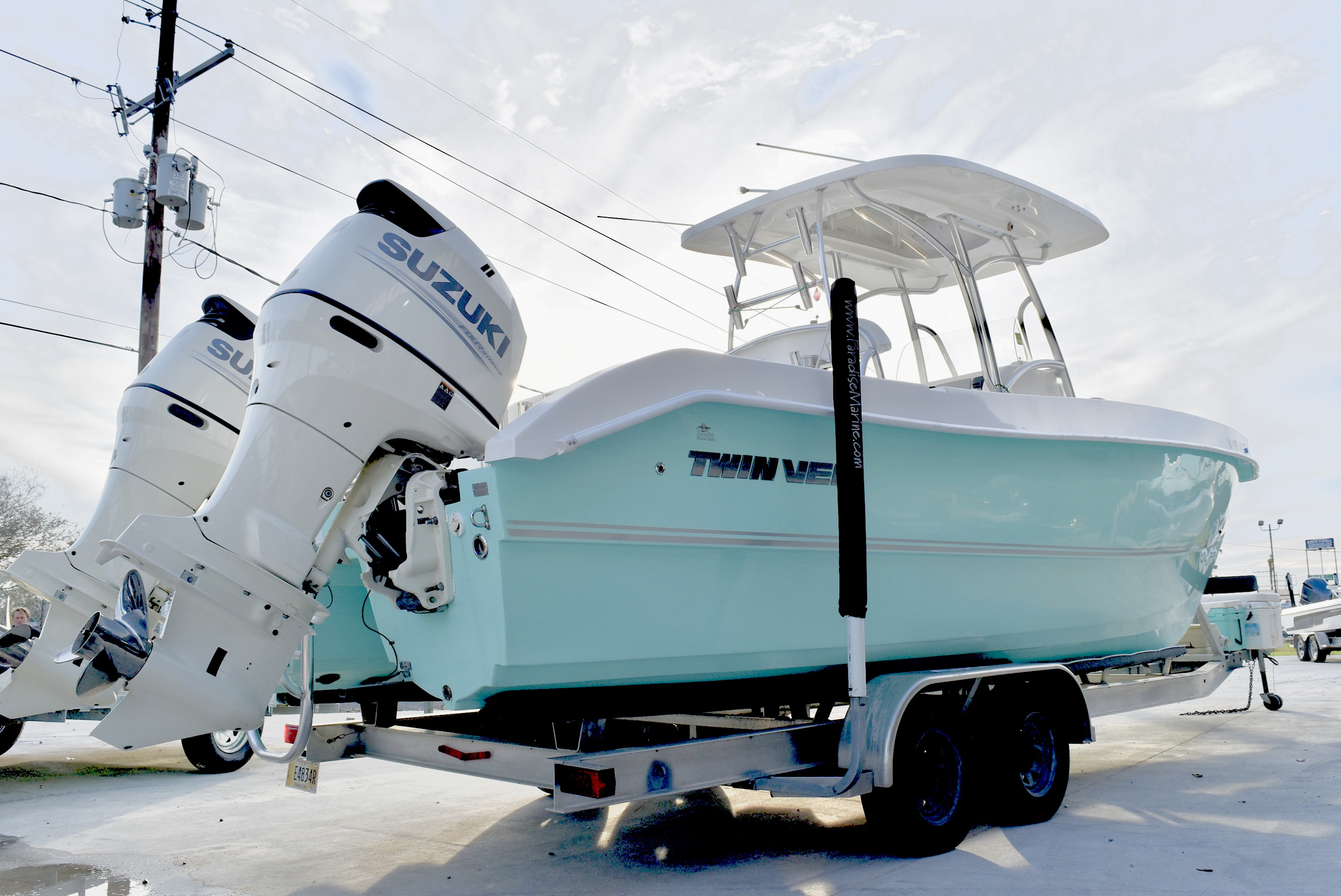 2018 Twin Vee boat for sale, model of the boat is 260 CC GF & Image # 15 of 18