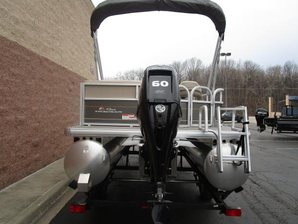 2021 Sun Tracker boat for sale, model of the boat is Party Barge 18 DLX & Image # 6 of 29