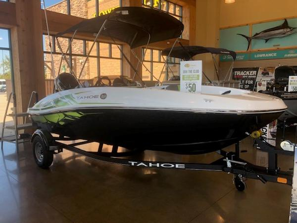2022 Tahoe boat for sale, model of the boat is T16 & Image # 1 of 5