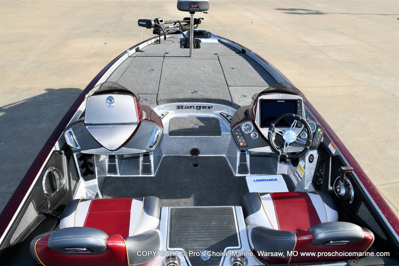 2021 Ranger Boats boat for sale, model of the boat is Z521C Ranger Cup Equipped DUAL CONSOLE & Image # 6 of 50