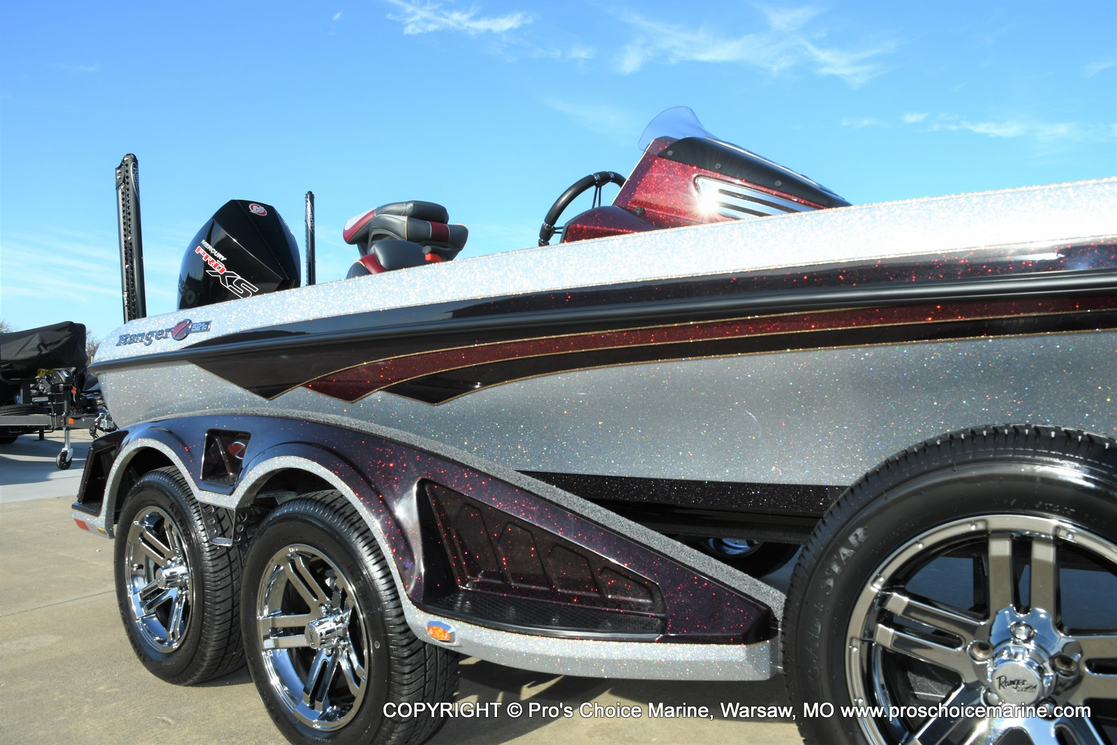 2021 Ranger Boats boat for sale, model of the boat is Z521C Ranger Cup Equipped DUAL CONSOLE & Image # 16 of 50