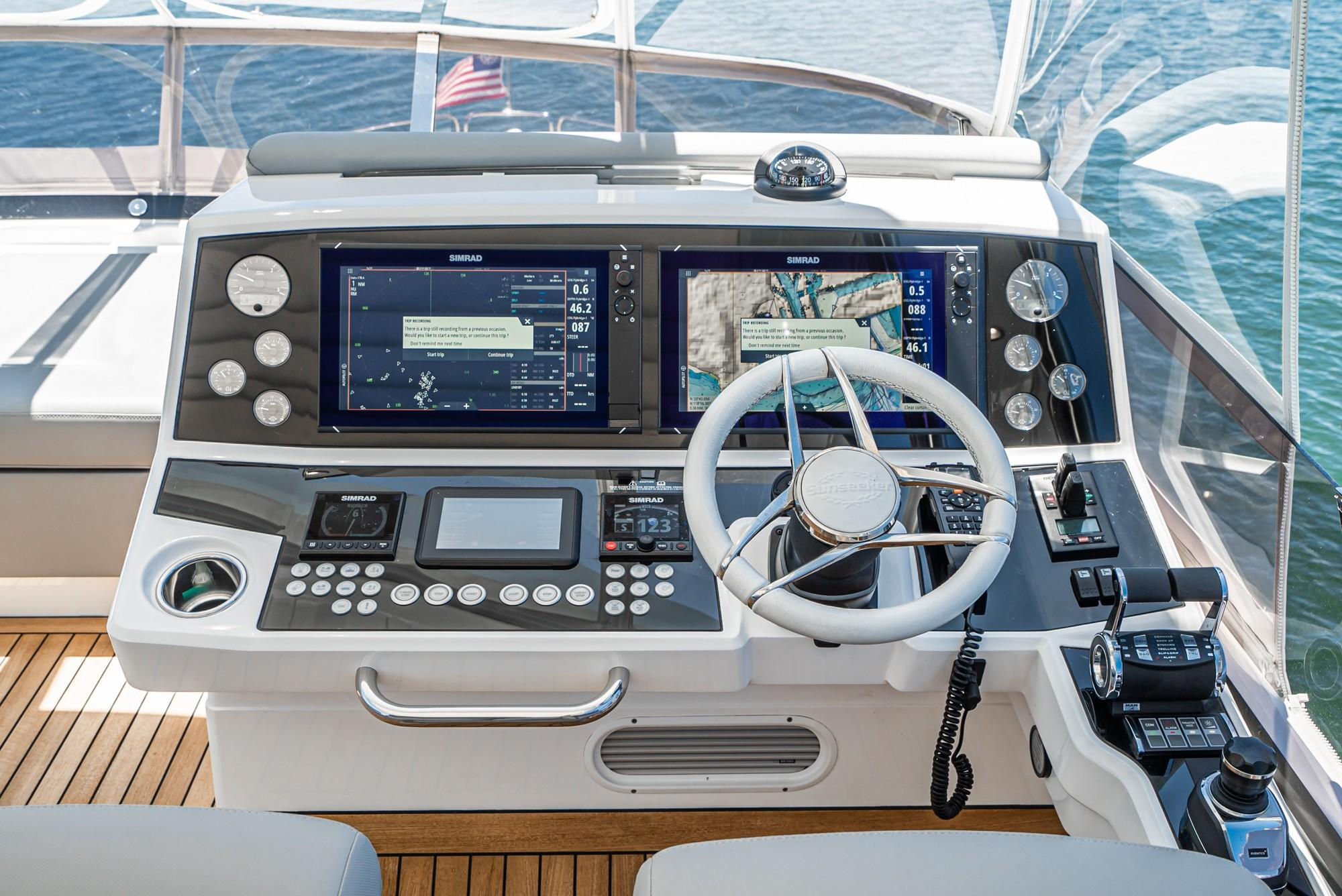 2018 Sunseeker 76 Yacht #TB7082JR inventory image at Sun Country Yachts in Newport Beach