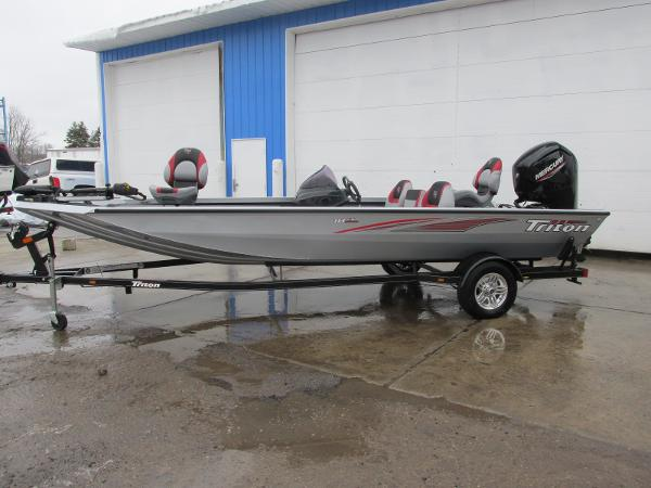 2019 Triton boat for sale, model of the boat is 18 TX & Image # 1 of 27