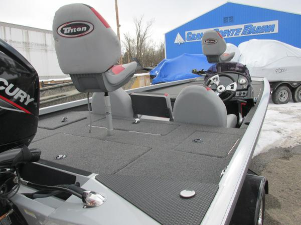 2019 Triton boat for sale, model of the boat is 18 TX & Image # 12 of 27