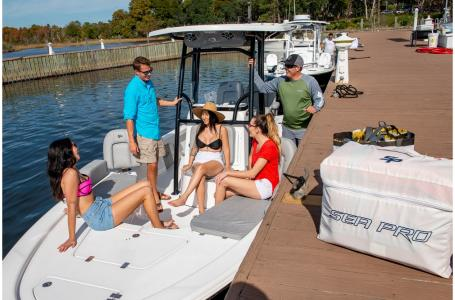 2021 Sea Pro boat for sale, model of the boat is 228 DLX Bay Boat & Image # 3 of 50