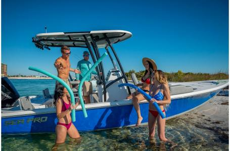 2021 Sea Pro boat for sale, model of the boat is 228 DLX Bay Boat & Image # 41 of 50