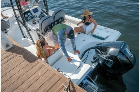 2021 Sea Pro boat for sale, model of the boat is 228 DLX Bay Boat & Image # 45 of 50