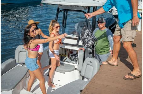 2021 Sea Pro boat for sale, model of the boat is 228 DLX Bay Boat & Image # 49 of 50