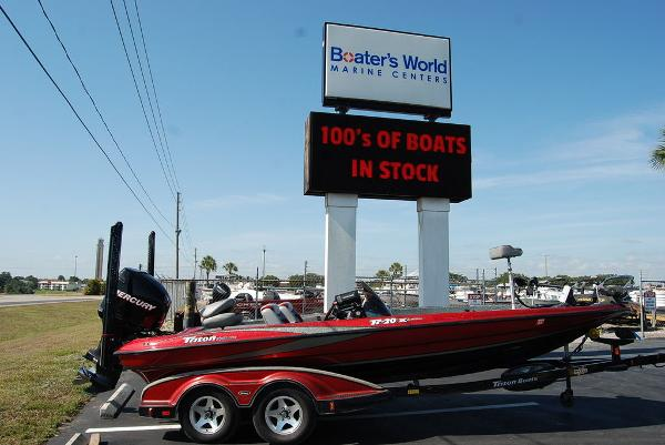 2006 Triton boat for sale, model of the boat is 20X & Image # 1 of 12