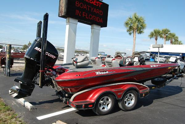 2006 Triton boat for sale, model of the boat is 20X & Image # 2 of 12