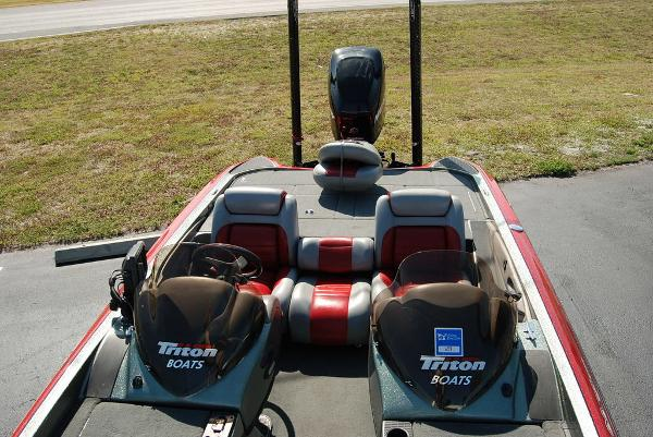 2006 Triton boat for sale, model of the boat is 20X & Image # 12 of 12