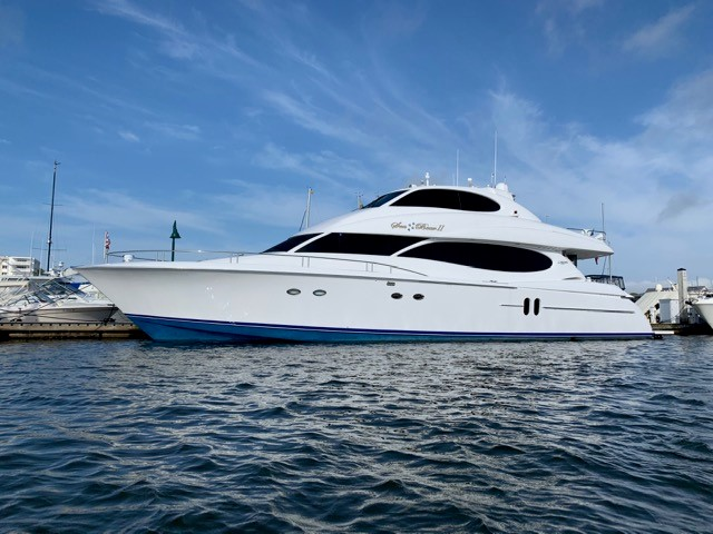 Picture Of:  80' Lazzara Yachts Sky Lounge 2002Yacht For Sale | 62