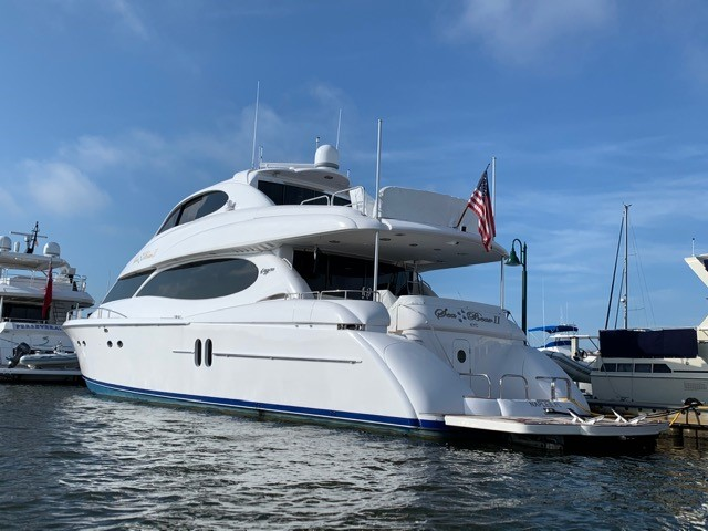 Picture Of:  80' Lazzara Yachts Sky Lounge 2002Yacht For Sale | 3 of 62