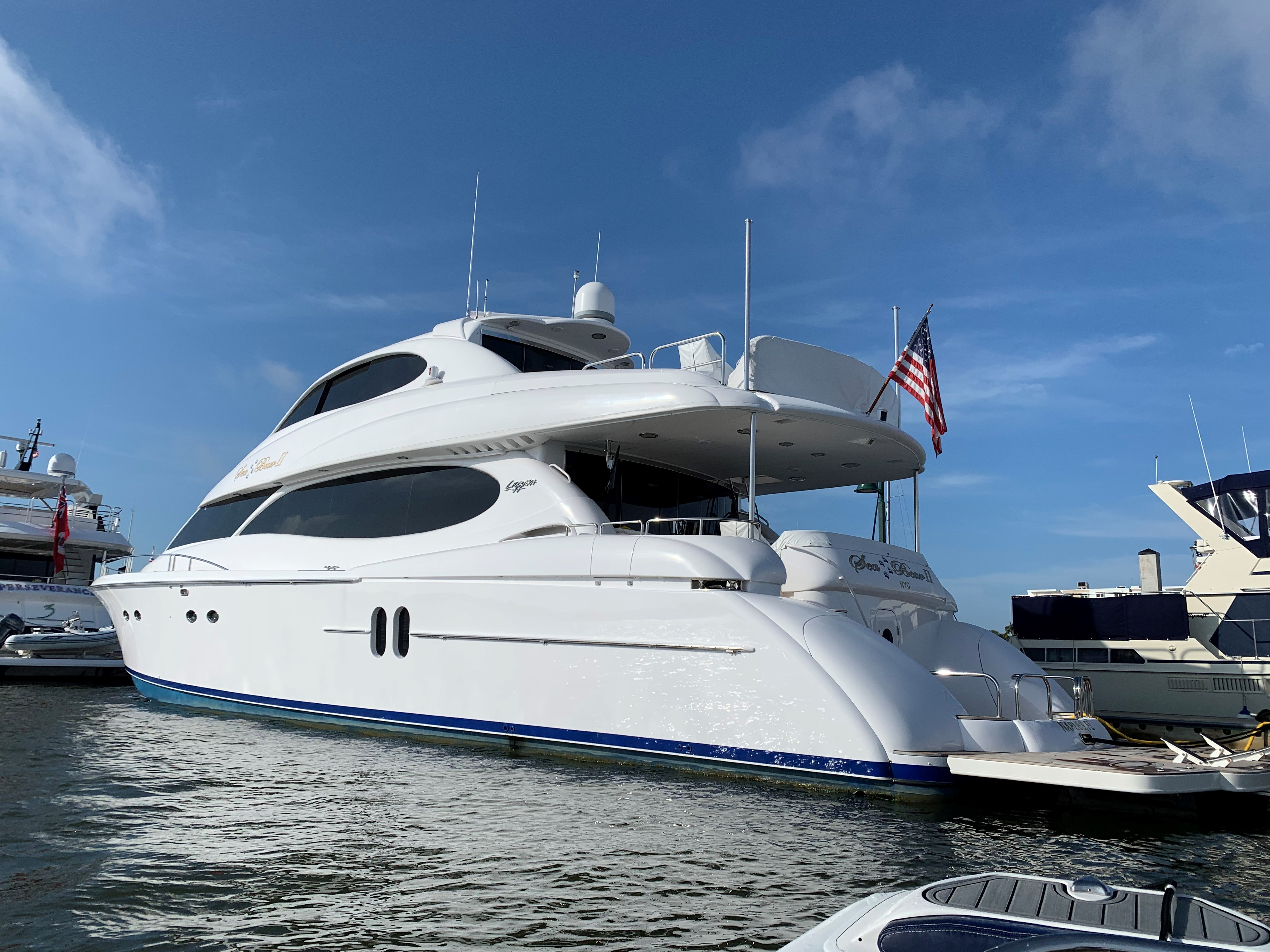 Picture Of:  80' Lazzara Yachts Sky Lounge 2002Yacht For Sale | 4 of 62