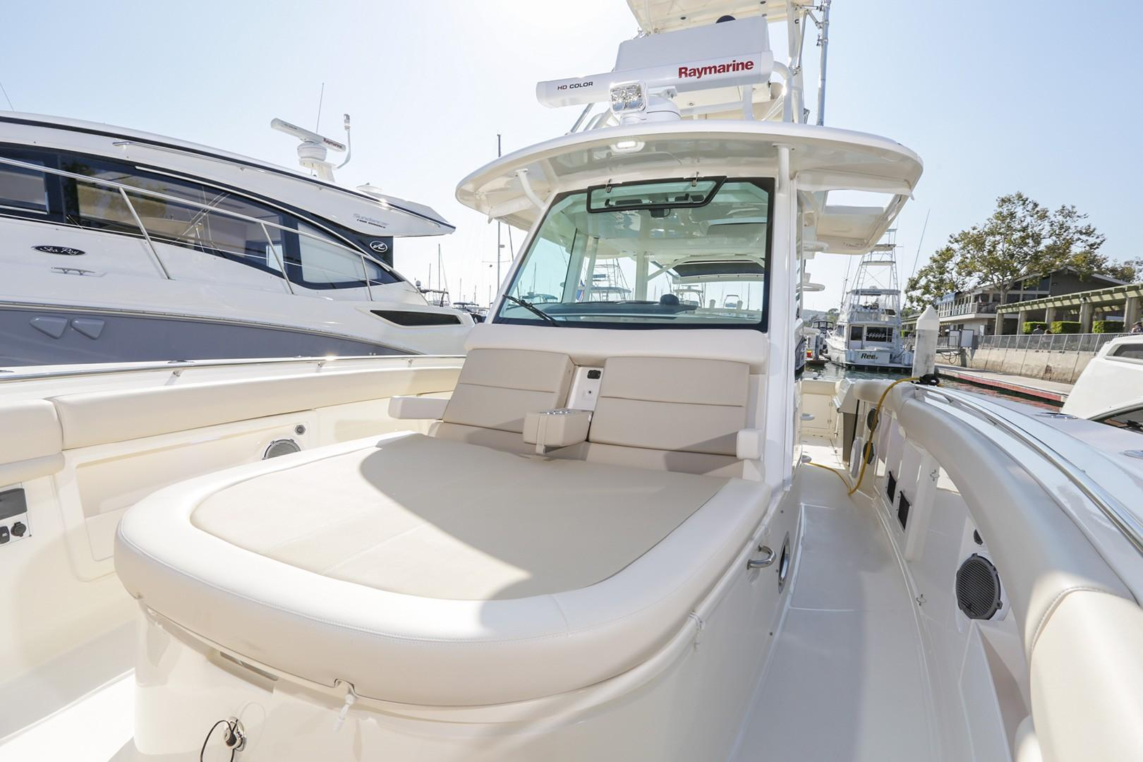 2018 Boston Whaler 380 Outrage #TB2429BB inventory image at Sun Country Coastal in Newport Beach