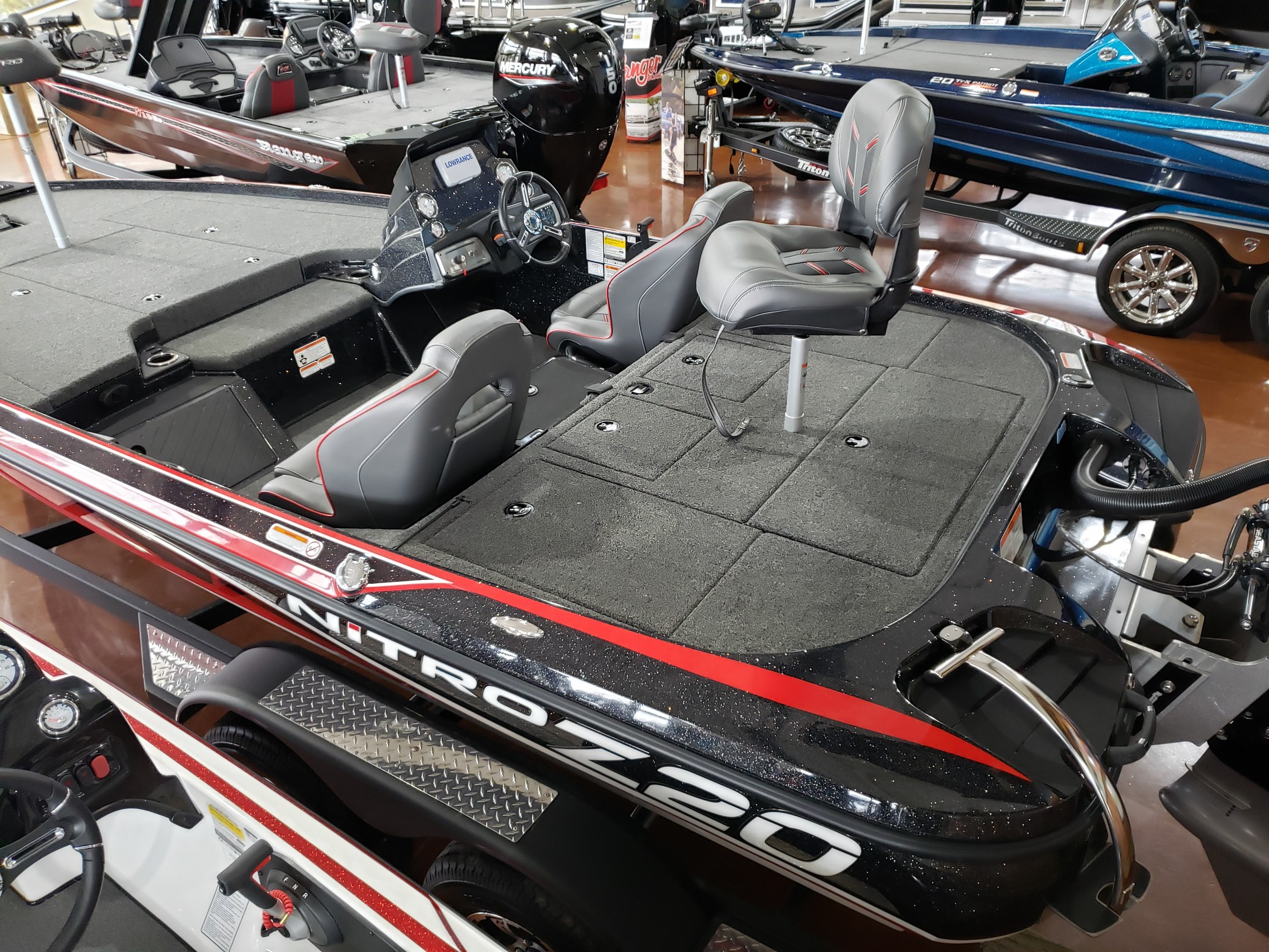 2021 Nitro boat for sale, model of the boat is NZ20 SC21 & Image # 10 of 50