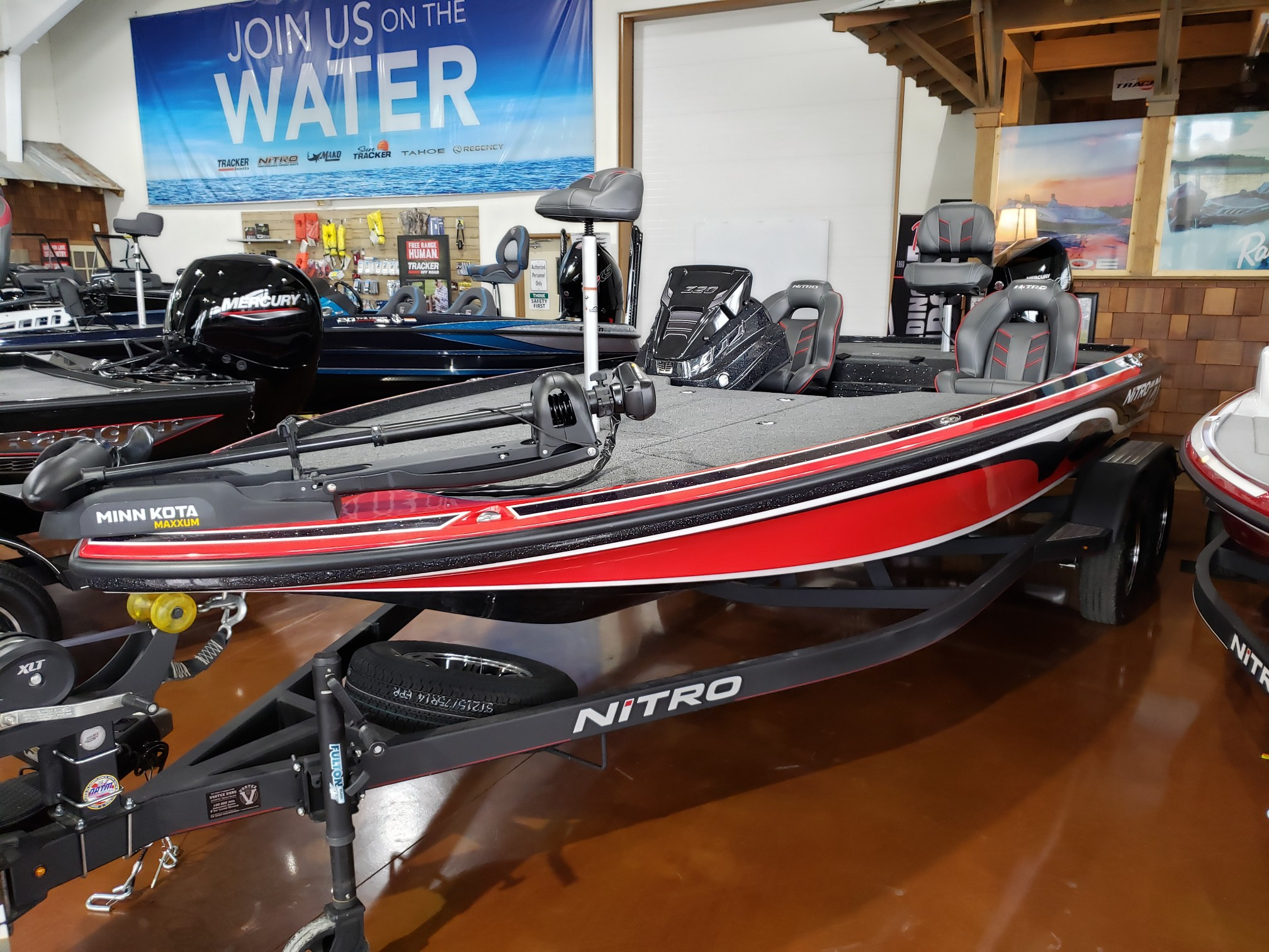 2021 Nitro boat for sale, model of the boat is NZ20 SC21 & Image # 17 of 50