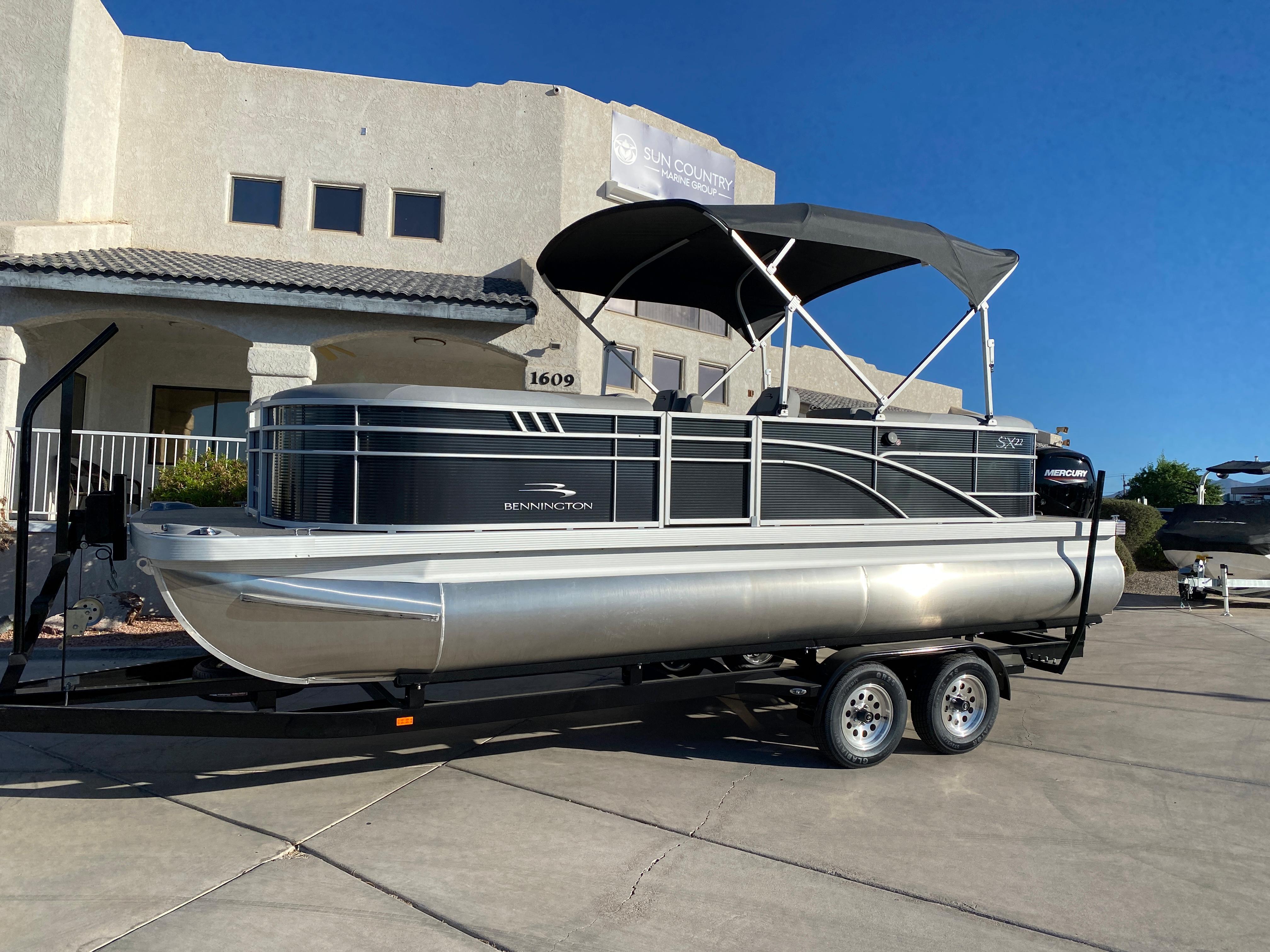 2021 Bennington 22 SSRX #B8542H inventory image at Sun Country Inland in Lake Havasu City