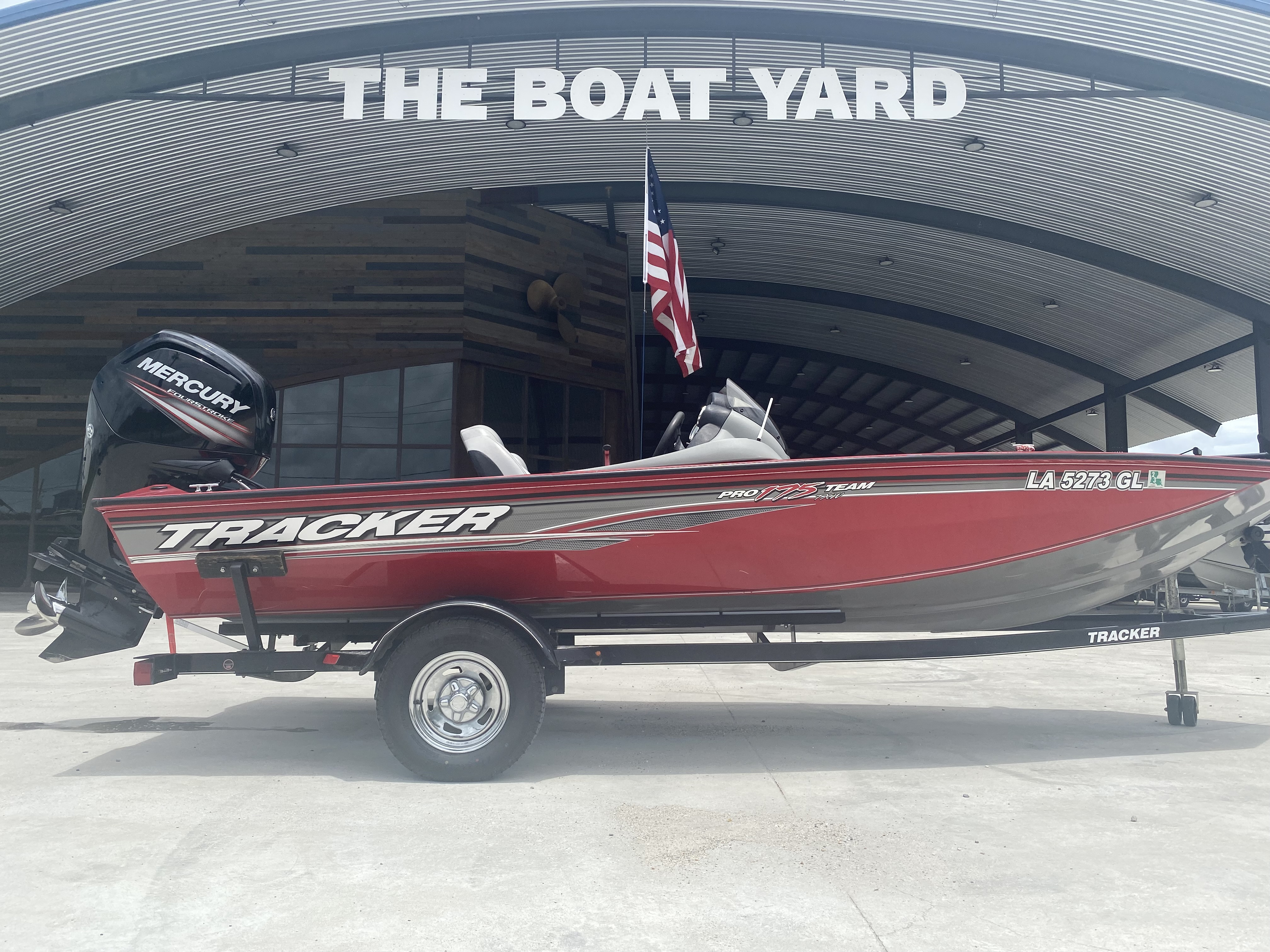 2016 Tracker Boats boat for sale, model of the boat is Pro Team 175 TXW & Image # 11 of 11