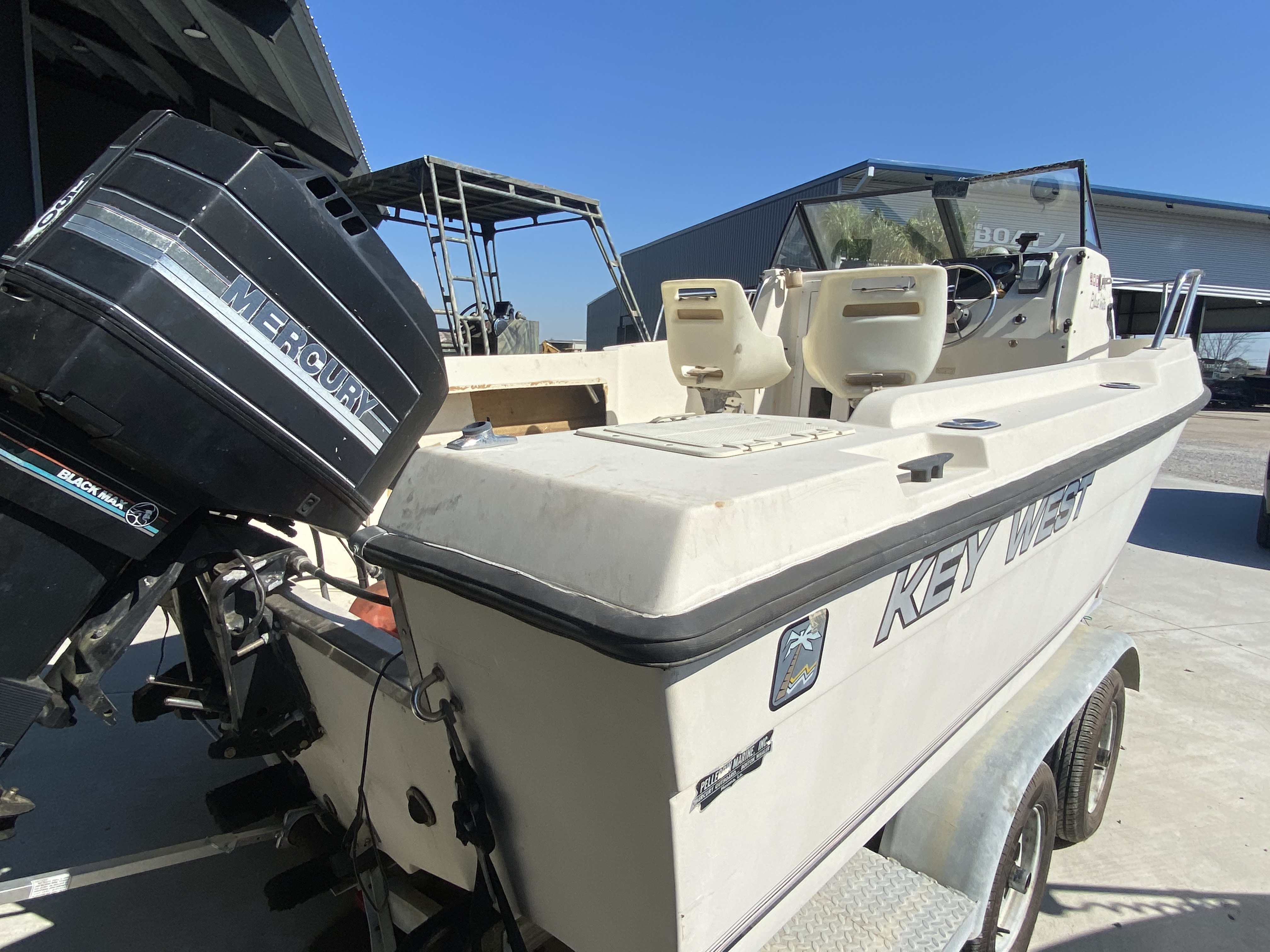 1990 Key West boat for sale, model of the boat is 2000 WA & Image # 4 of 5