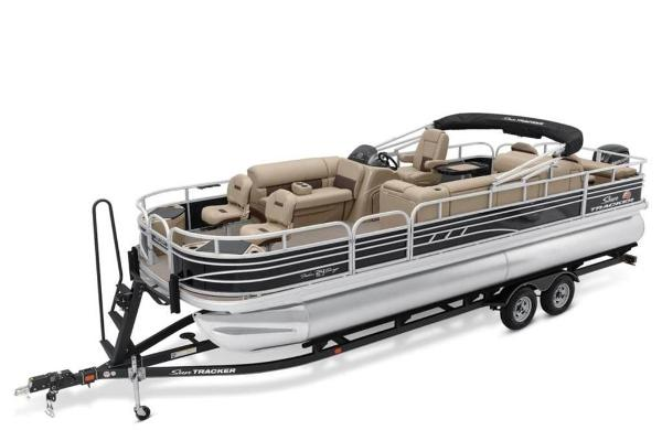 2021 Sun Tracker boat for sale, model of the boat is FISHIN' BARGE® 24 DLX & Image # 1 of 35