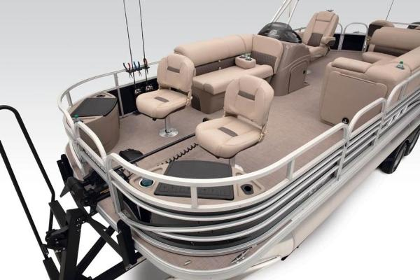 2021 Sun Tracker boat for sale, model of the boat is FISHIN' BARGE® 24 DLX & Image # 7 of 35
