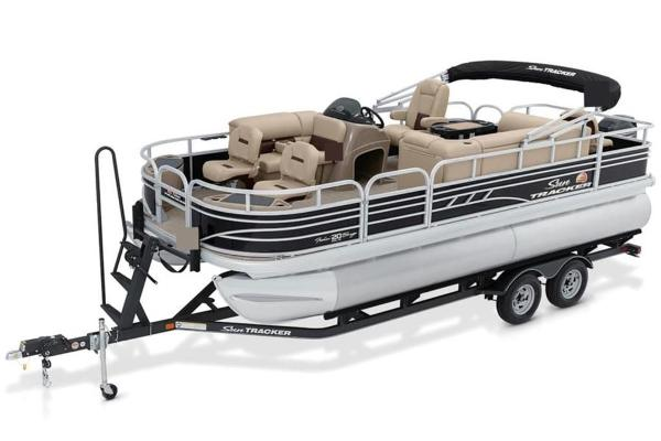 2022 Sun Tracker boat for sale, model of the boat is FISHIN' BARGE® 20 DLX & Image # 1 of 28