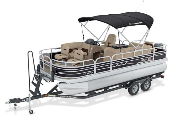 2022 Sun Tracker boat for sale, model of the boat is FISHIN' BARGE® 20 DLX & Image # 3 of 28