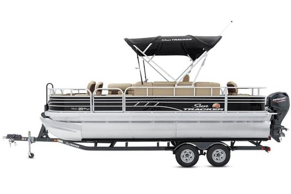 2022 Sun Tracker boat for sale, model of the boat is FISHIN' BARGE® 20 DLX & Image # 5 of 28
