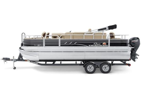 2022 Sun Tracker boat for sale, model of the boat is FISHIN' BARGE® 20 DLX & Image # 7 of 28