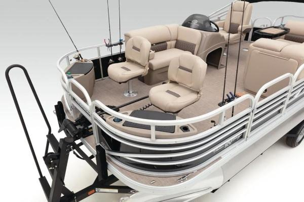 2022 Sun Tracker boat for sale, model of the boat is FISHIN' BARGE® 20 DLX & Image # 24 of 28