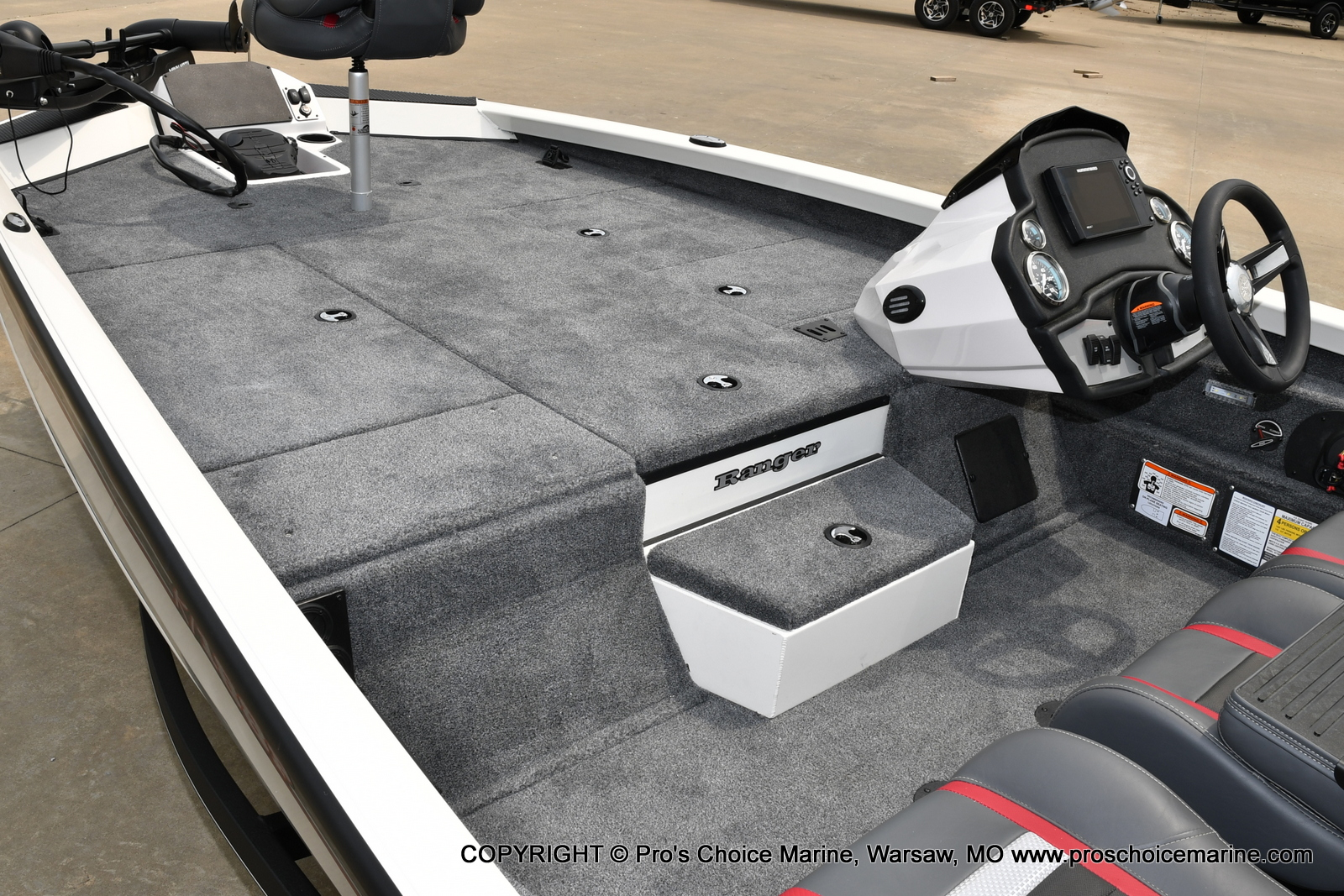 2021 Ranger Boats boat for sale, model of the boat is RT188P & Image # 6 of 50