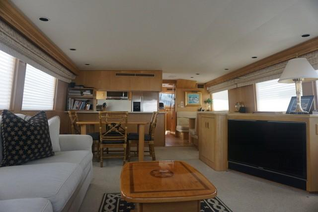 Picture Of:  70' Hatteras Sport Deck 1997Yacht For Sale | 3 of 37