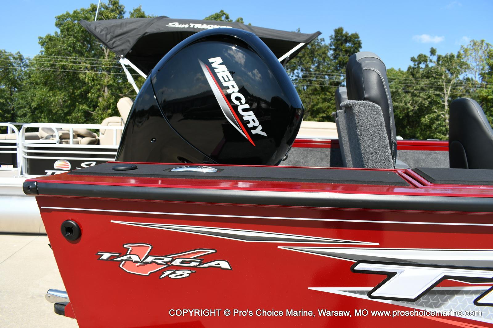 2021 Tracker Boats boat for sale, model of the boat is Targa V-18 WT & Image # 19 of 50