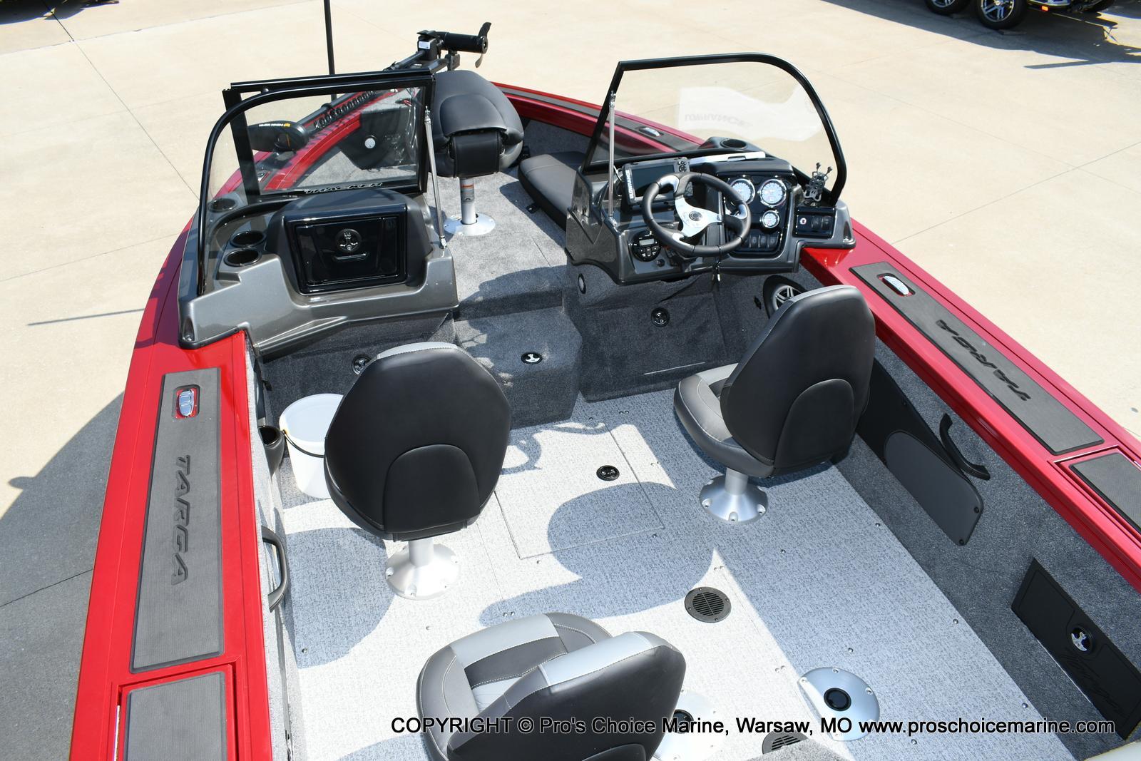 2021 Tracker Boats boat for sale, model of the boat is Targa V-18 WT & Image # 22 of 50