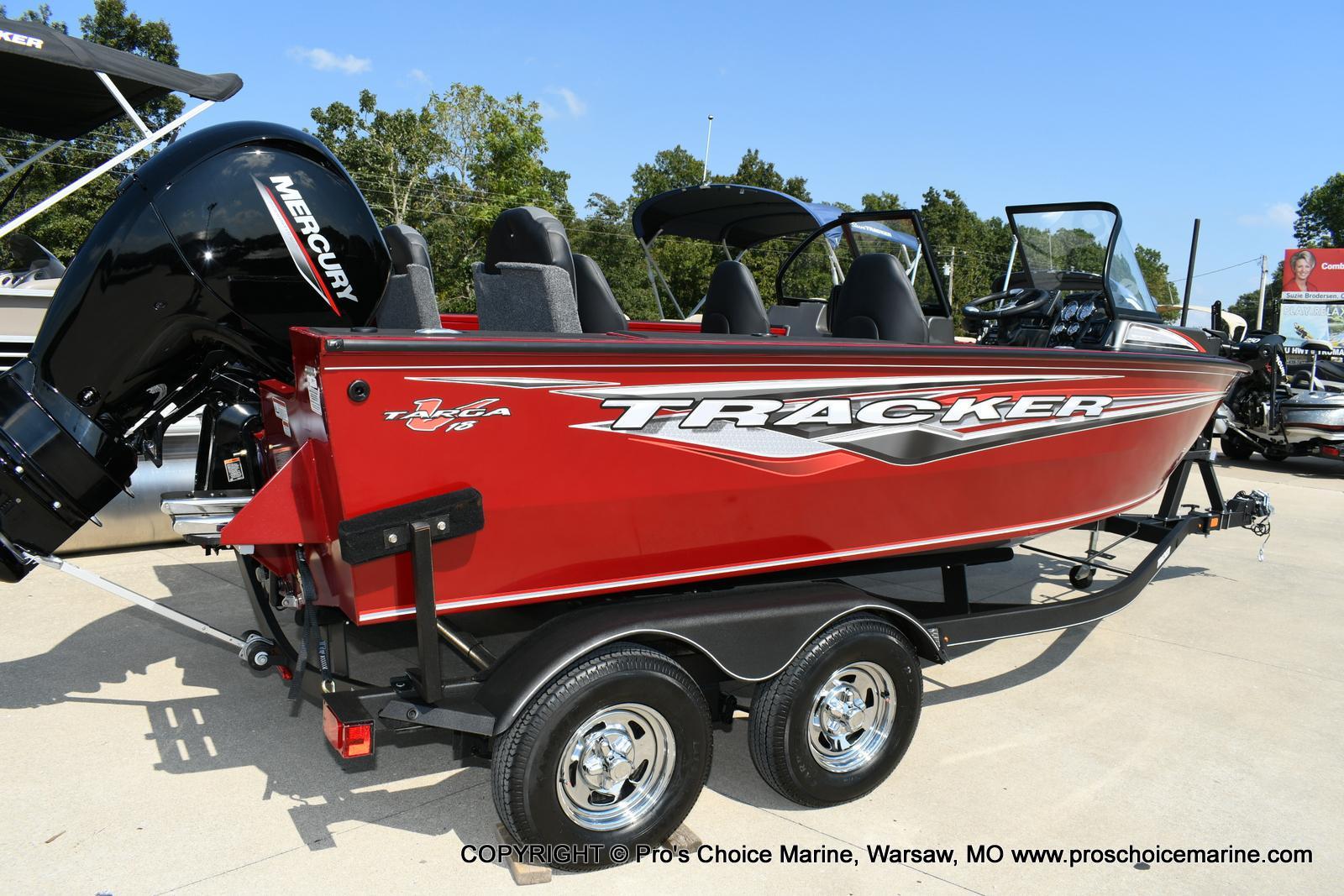 2021 Tracker Boats boat for sale, model of the boat is Targa V-18 WT & Image # 37 of 50