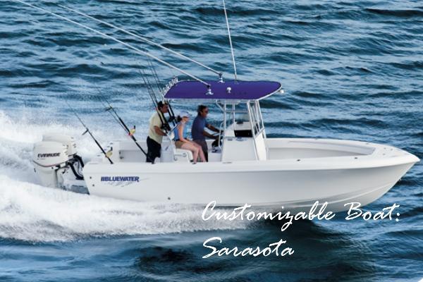 2022 Bluewater Sportfishing 23t
