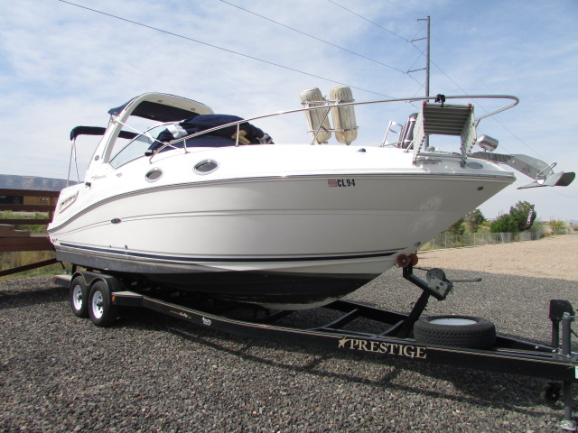 2007 Sea Ray boat for sale, model of the boat is 260 Sundancer & Image # 2 of 49