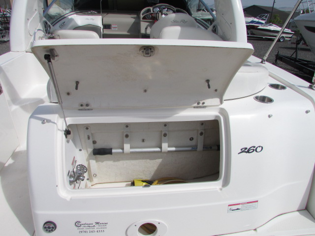 2007 Sea Ray boat for sale, model of the boat is 260 Sundancer & Image # 44 of 49