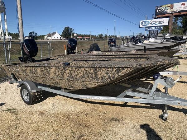 New 2020 Lowe Roughneck 1660 Deluxe Tiller, 36578 Stapleton - Boat Trader