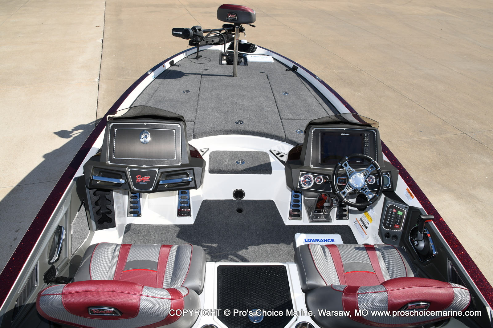 2021 Ranger Boats boat for sale, model of the boat is Z521L Cup Equipped DUAL CONSOLE & Image # 19 of 50