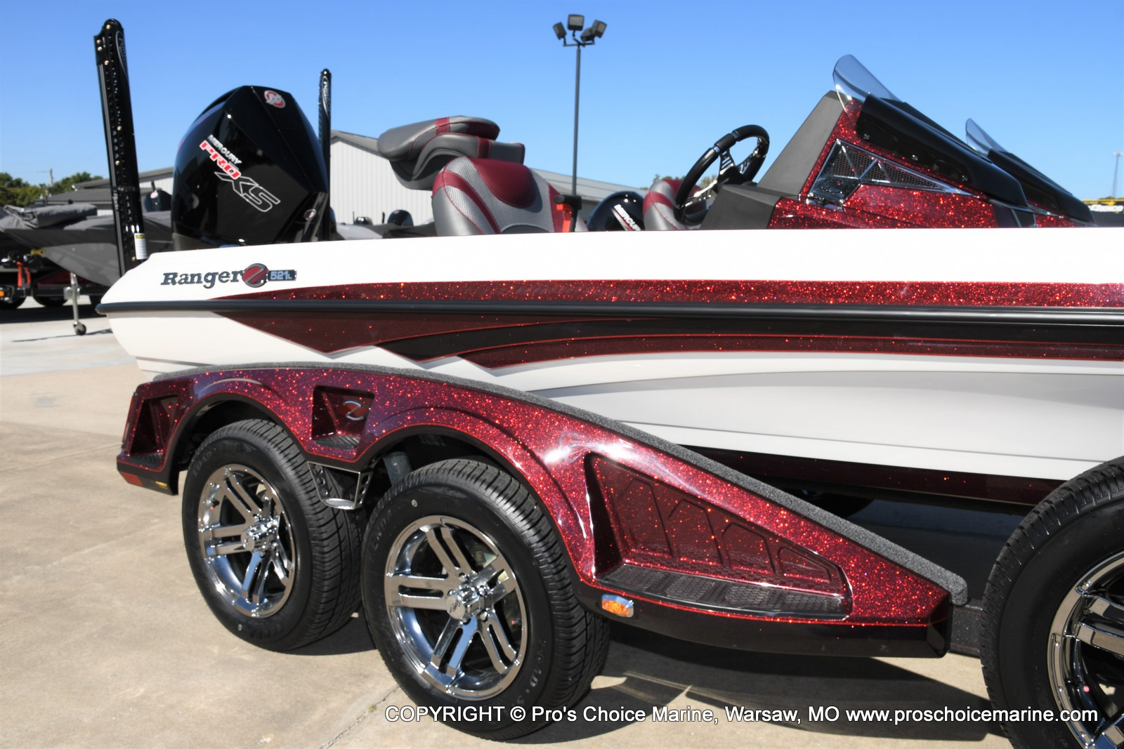 2021 Ranger Boats boat for sale, model of the boat is Z521L Cup Equipped DUAL CONSOLE & Image # 44 of 50