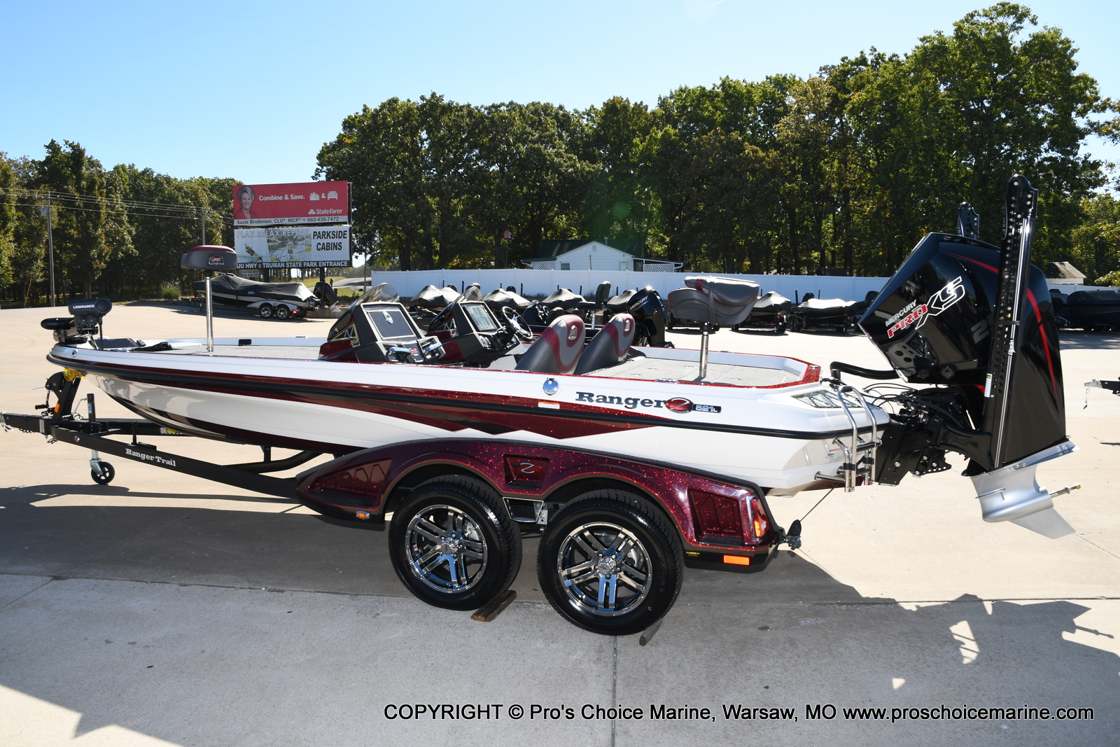 2021 Ranger Boats boat for sale, model of the boat is Z521L Cup Equipped DUAL CONSOLE & Image # 45 of 50