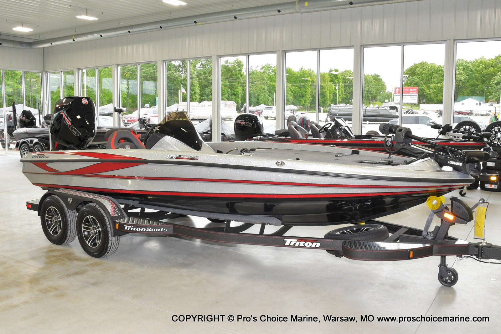 2021 Triton boat for sale, model of the boat is 19 TRX PATRIOT w/225HP PRO-XS & Image # 1 of 23