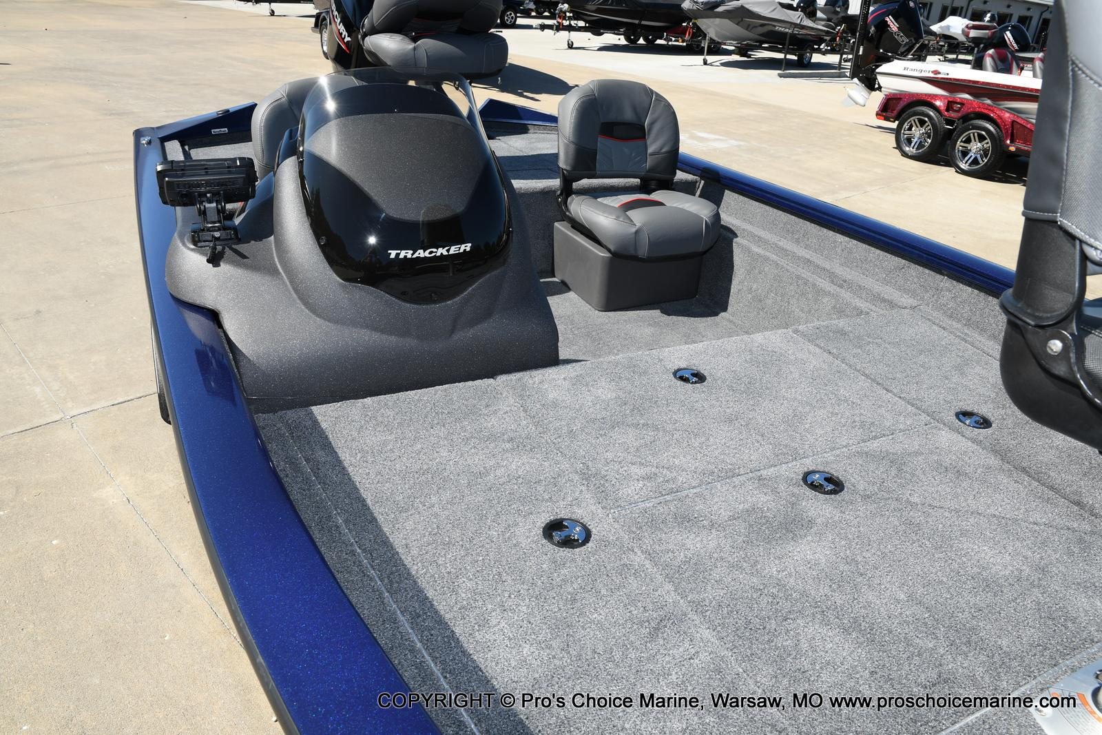 2021 Tracker Boats boat for sale, model of the boat is Pro Team 175 TF & Image # 44 of 50