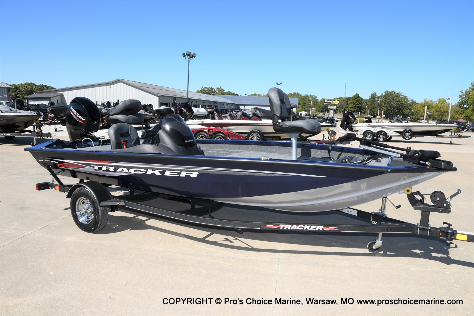 2021 Tracker Boats boat for sale, model of the boat is Pro Team 175 TF & Image # 1 of 50