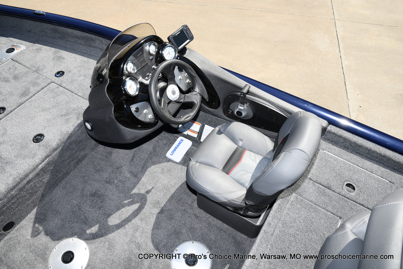 2021 Tracker Boats boat for sale, model of the boat is Pro Team 175 TF & Image # 10 of 50