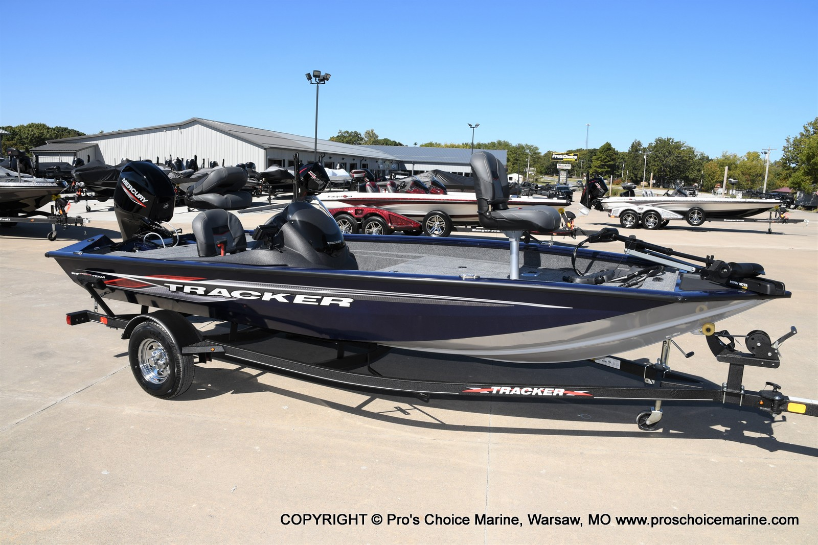 2021 Tracker Boats boat for sale, model of the boat is Pro Team 175 TF & Image # 13 of 50